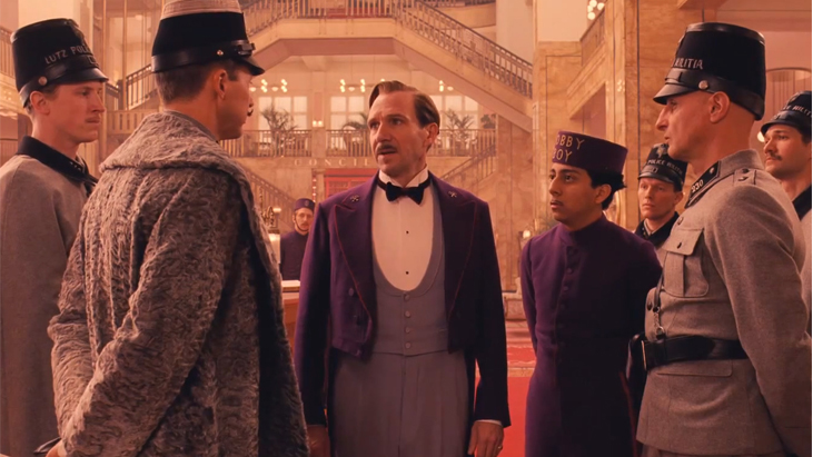 The Grand Budapest Hotel Cinerituel