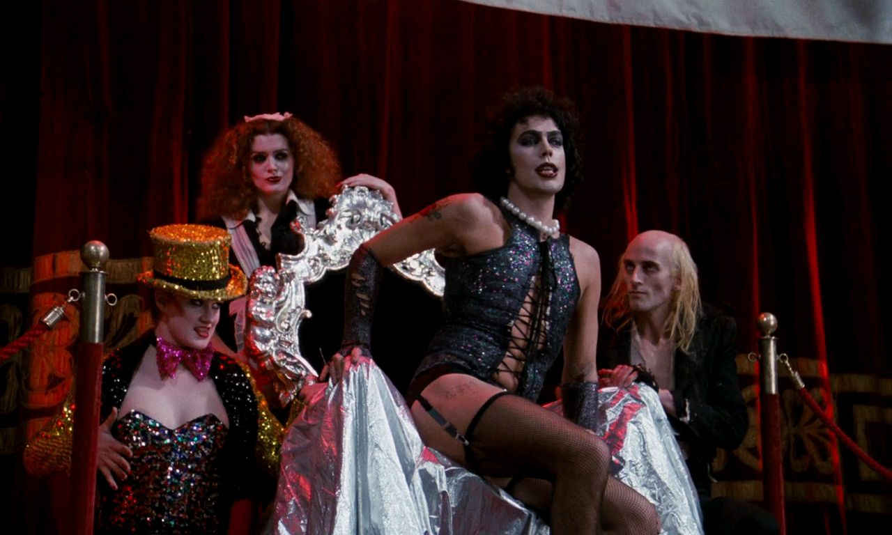 the rocky horror picture show rebellion Watch the rocky horror picture show: let&#8217s do online free: a straitlaced, square couple, seeking shelter from a storm, find themselves in the castle of a transgender alien mad scientist intent on creating a buff bodybuilder.
