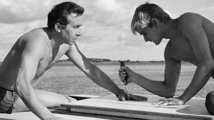Nóz W Wodzie / Knife In The Water / Sudaki Bıçak (1962) – Roman Polanski
