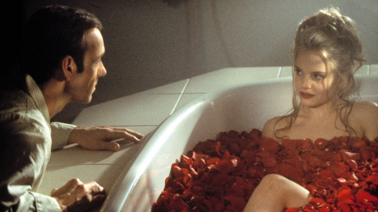 american beauty film analysis 2 Each step in the alchemical process has a parallel in the movie, american beauty nigredo right at the beginning you meet the dragon, the chthonic spirit, the devil or, as the alchemists called it, the blackness, the nigredo , and this encounter produces suffering  [2.