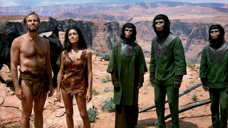 Planet of the Apes (1968): Aynaya Bakmak
