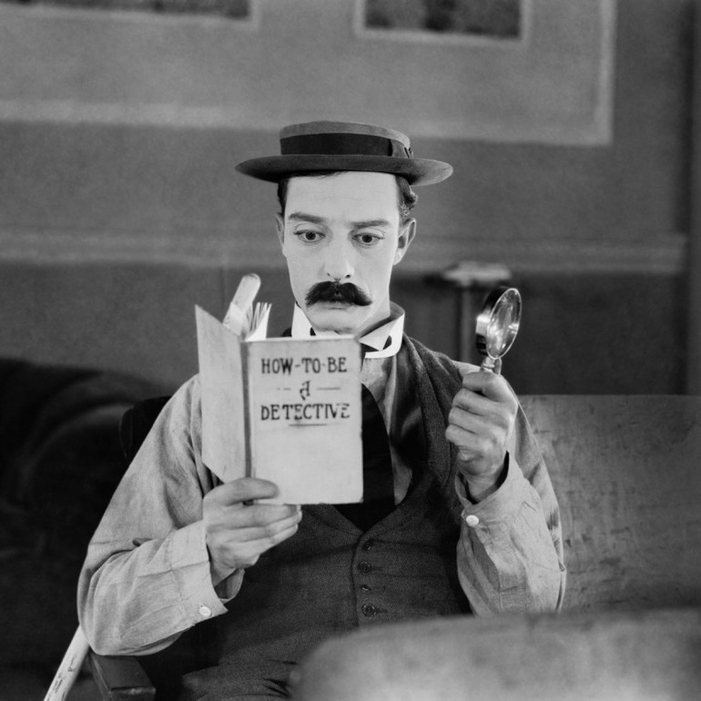 Sherlock Jr. (1924) – Buster Keaton
