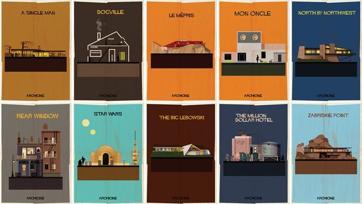 Kült Filmlerin Mimari İzdüşümleri