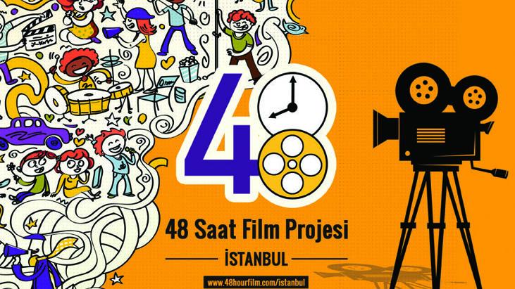 İstanbul 48 Saat Film Projesi Filmapalooza'ya Gönderiyor!