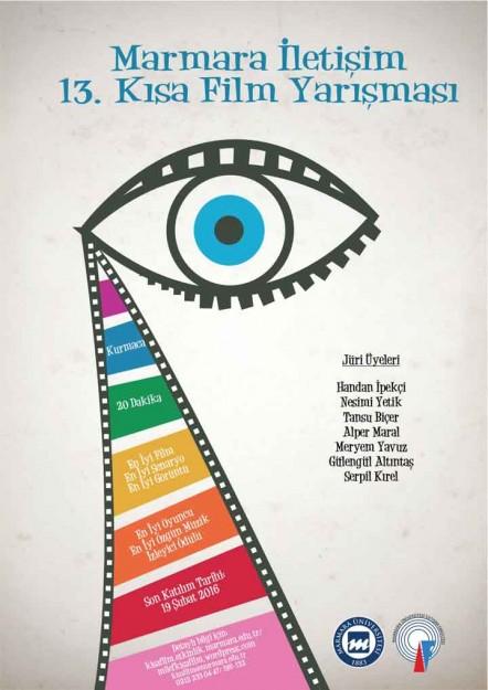 13. Marmara İletşim Kısa Film Yarışması afis - Cinerituel