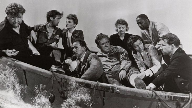Lifeboat / Yaşamak İstiyoruz (1944) – Alfred Hitchcock
