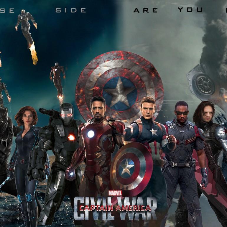 """Süper Kahramanlar Yarışında """"Kaptan Amerika: Kahramanların Savaşı""""na Adım Adım Yaklaşırken"""