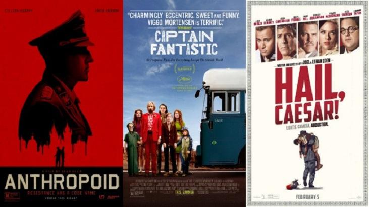Ücretsiz Senaryolar! 2017 Oscar Ödüllerinde Yarışan 'Hail, Caesar!' ve Daha Fazlası (Genel Liste)