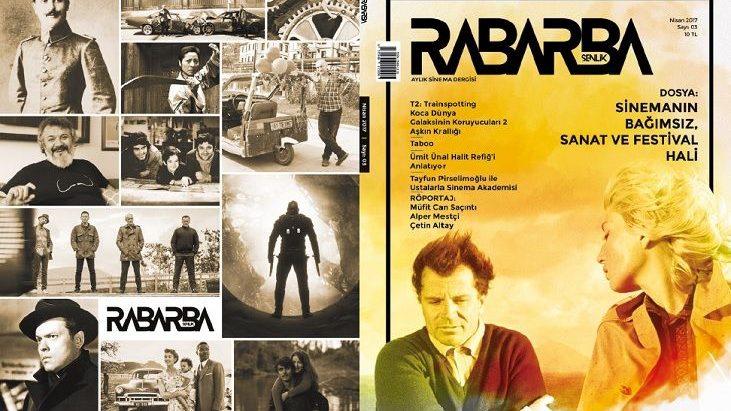 Sinema Dergisi Rabarba'nın Nisan Sayısı Çıktı