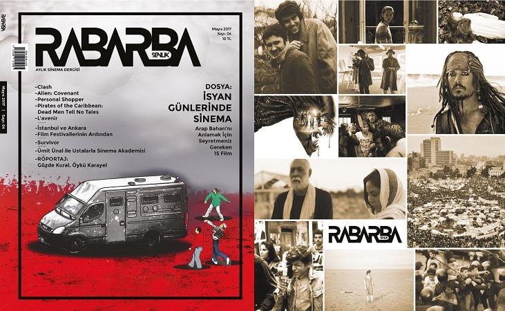 Rabarba Şenlik'in Mayıs Sayısı Çıktı