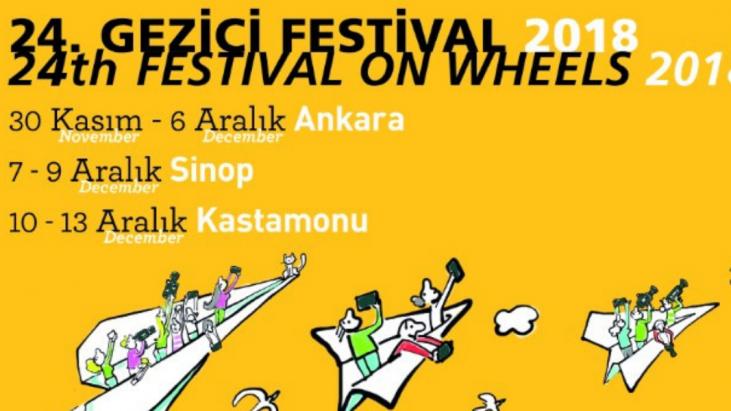24. Gezici Festival 30 Kasım -13 Aralık Tarihleri Arasında Ankara, Sinop Ve Kastamonu'ya Uğrayacak!